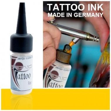 Tinta Tatuaje Aerografia Senjo Tattoo Ink Amarillo