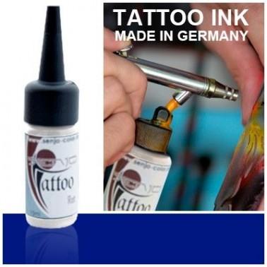 Tinta Tatuaje Aerografia Senjo Tattoo Ink Azul