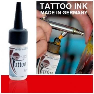Tinta Tatuaje Aerografia Senjo Tattoo Ink Rojo