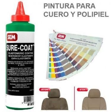 Pintura Cuero Sure Coat Verde Thalo