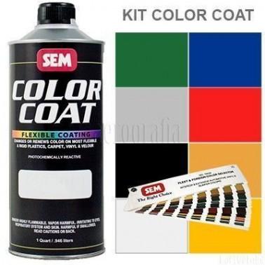 Pintura Polipiel Color Coat Kit Completo