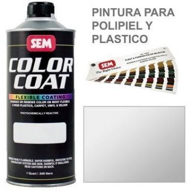 Pintura Polipiel Color Coat Blanco