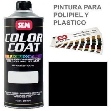 Pintura Polipiel Color Coat Negro Landau
