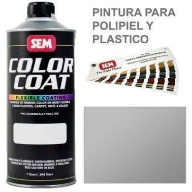 Pintura Polipiel Color Coat Plata
