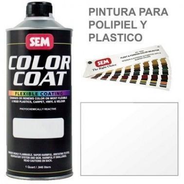 Pintura Polipiel Color Coat Barniz Alto Brillo