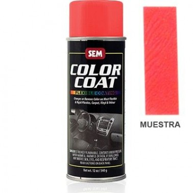Pintura Polipiel Color Coat Rojo Llama Aerosol