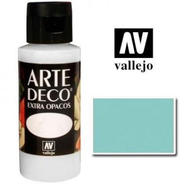 Pintura Vallejo Arte Deco Aquamarine