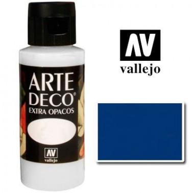 Pintura Vallejo Arte Deco Azul Arándano