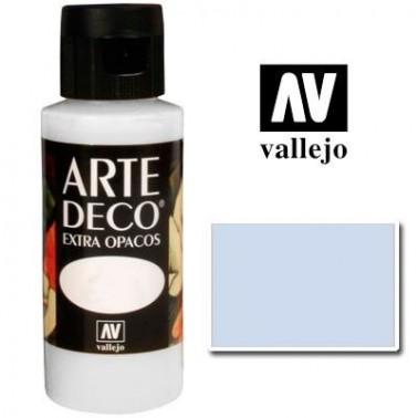 Pintura Vallejo Arte Deco Azul Claro