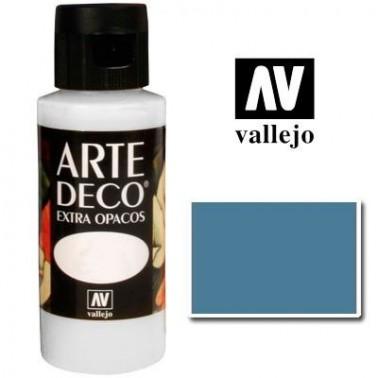 Pintura Vallejo Arte Deco Azul Francés
