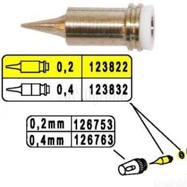 Recambio Aerografo Harder Boquilla 0,2mm