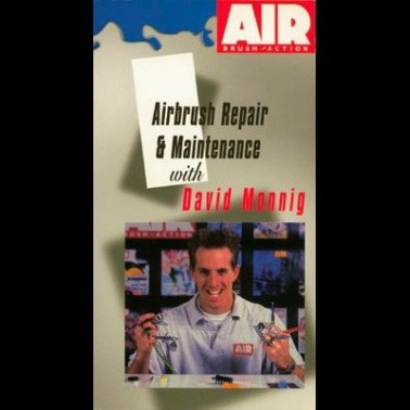 DVD Airbrush Repair & Maintenance With David Monnig