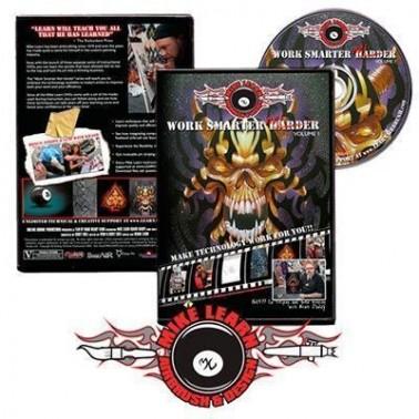 DVD Work Smarter Not Harder Kit DVD Volume 1 + Plantillas