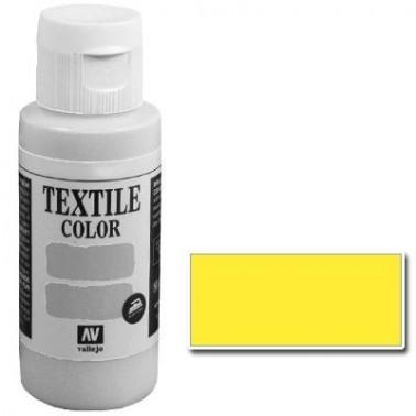 Pintura Vallejo Textil Amarillo Limón 60ml