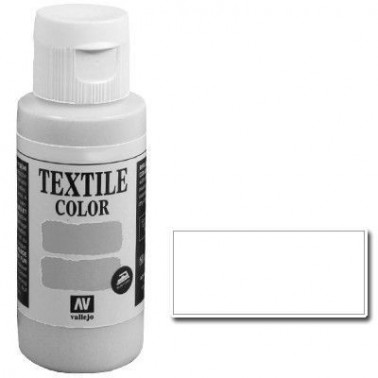 Pintura Vallejo Textil Blanco 60ml