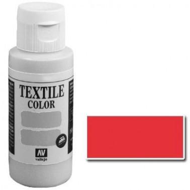 Pintura Vallejo Textil Rojo 60ml