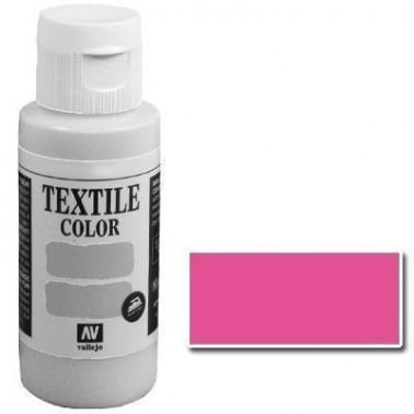 Pintura Vallejo Textil Rosa Bengala 60ml