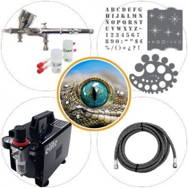 Kit Aerografia 015b Nivel Medio