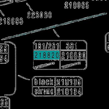 Recambio Aerografo Hansa 151 181 251 281 581 Aguja 0.2mm